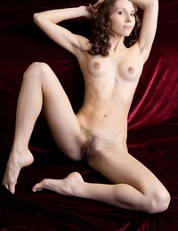 Gemma A: Naturlich by Rylsky - Erotic visuals of young and fresh maiden baring lush, untouched assets.