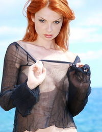 Natalia A: Deos by Leonardo - Naturally beautiful redhead with exquisite fair skin that matches her curly crimson mane, Natalia is an impressive displ